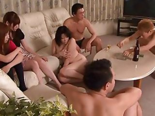 Asian Groupsex  Orgy Swingers Wife