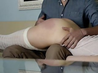 Croatian man spanking Ass her Submissive German Girlfriend