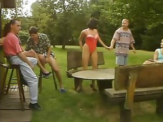 Groupsex Orgy Outdoor Vintage
