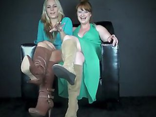 Discreditable Talk from Blonde plus Ginger Bitches J O I