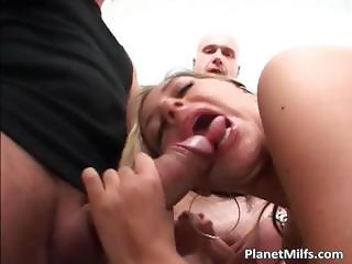 Slut loves big rubber sex toys but she part5