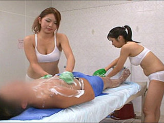 Asian Babe Japanese Massage