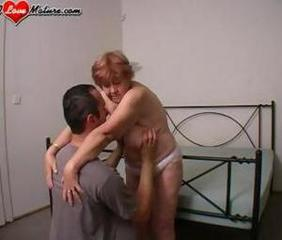 Chubby European Mature Mom Old and Young