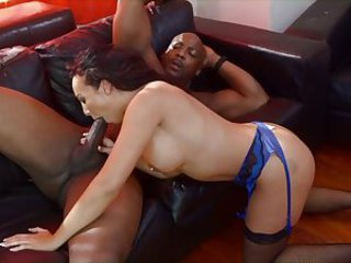 British slut Rio gets fucked by a BBC