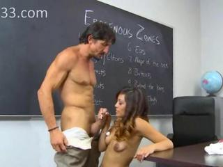 Daddy Handjob Interracial Latina Old and Young  School Student Teacher