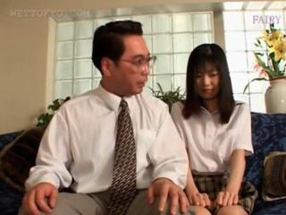 Asian Daddy Old and Young Student Teacher Teen