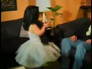 Midget mistress gets some meat -  sibel18 com