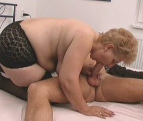 Blowjob Chubby European Granny