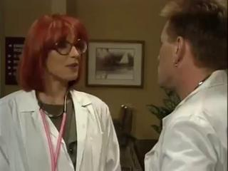 Doctor Glasses  Redhead Uniform Vintage