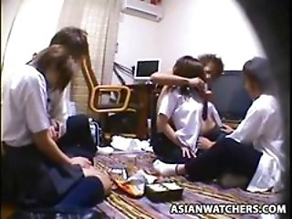 Asian HiddenCam Party Teen Voyeur