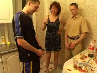 Mother Seduced Drunk Son And His...