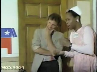 Ebony Interracial Maid Uniform Vintage
