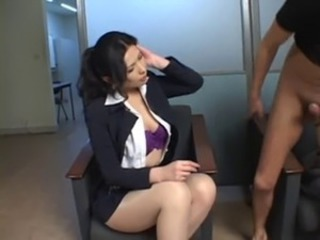 Asian  Pantyhose Secretary