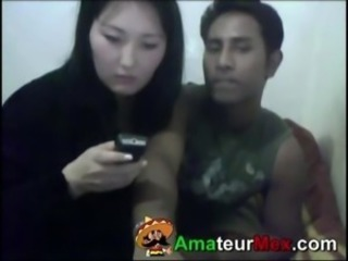 Asiática Novia Interracial Coreana Webcam