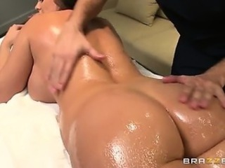 Ass Massage  Oiled Pornstar
