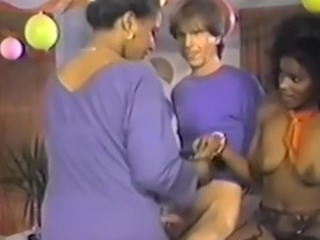 Negreta Interracial   Trio Vintage