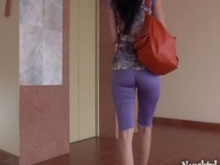 My cameltoe :). I wore leggings with no panties... See the full version and...