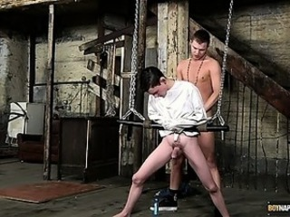 Sex and a straitjacket!