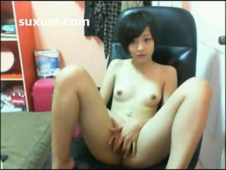 Asian Cute Masturbating Skinny Small Tits Teen Thai Webcam