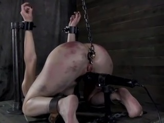 Crazy torturing for Hot serf
