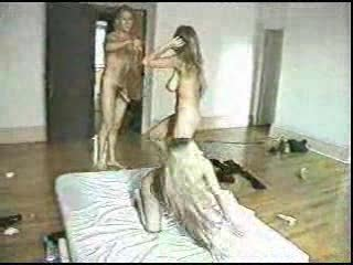 Two Blonds Twins Sisters Fucked In The Ass