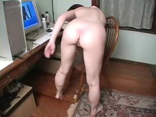 Amateur Ass Masturbating Solo Teen