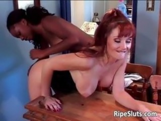Hot milf and young ebony slut enjoy part4