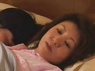 Asian Japanese Mature Mom Old and Young Sleeping
