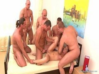 Cute Teen Brutally Gangbanged By 6 Guys -sexy-employe...