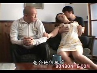 Asian Daddy Family Mom Old and Young