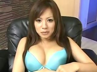 Busty Japanese Teen - Blowjob, Titsfuck and Threesome