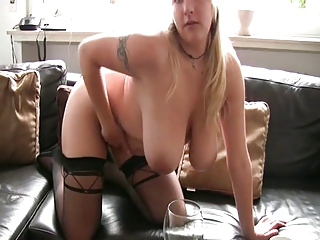 Amateur Big Tits Chubby Homemade  Natural  Stockings