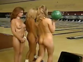 Sara St. James nude bowling with friends