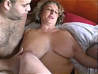 Amateur BBW Mature Mom Old and Young SaggyTits