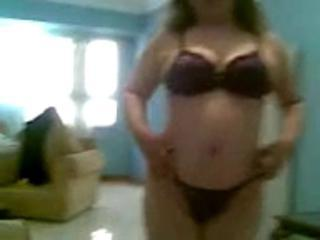 Egyptian Bbw Show Her Body