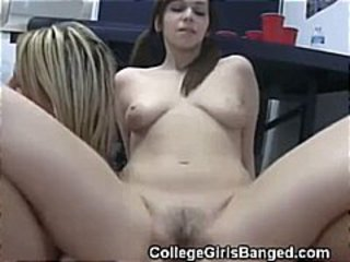 College Teens Get Oral And Fuck During Twister Foursome Game