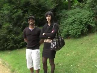 Interracial  Outdoor Public