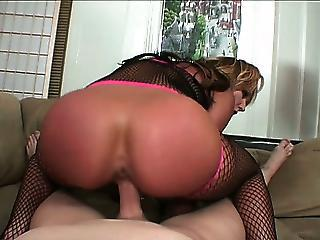 Ass Babe Fishnet Hardcore Pov Riding Stockings