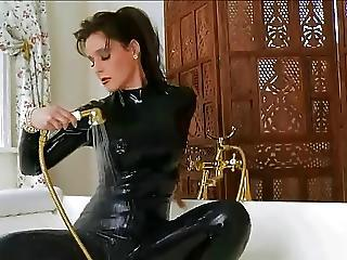 Latex Milf Bath Time Banana