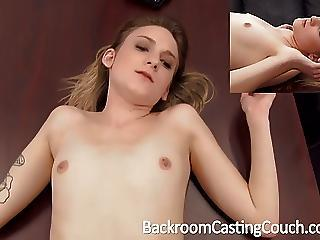Petite Young Stripper Anal Creampie
