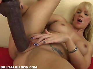 Dildo Masturbating  Solo Toy