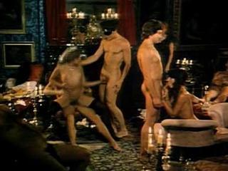 Rasputin - Orgien am Zarenhof (1983) Group sex scene