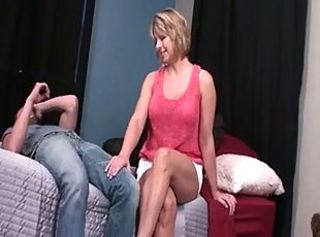 Mom Gives Best Footjob