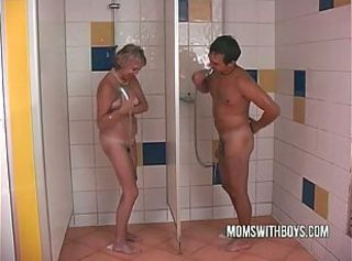 Mature Mom Old and Young Showers