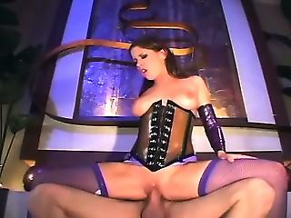 Babe Corset Riding Stockings