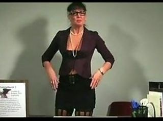 Bitchy Mature Teacher Jerkoff Instructions JOI