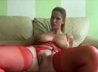 Amateur Big Tits Cute MILF Stockings