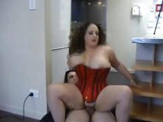 Amateur  Big Tits Corset  Natural Riding