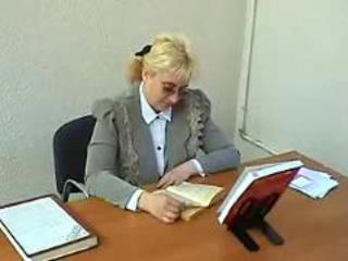 Mature Mom Old and Young Russian Teacher