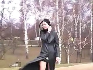 Amateur Girlfriend Goth Outdoor Public